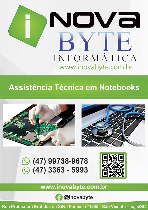 Formatar Notebook Itajaí